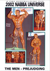 2002 NABBA Universe: The Men - Prejudging