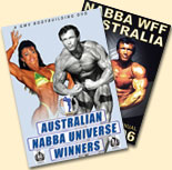AUSTRALIAN WINNERS AT THE NABBA UNIVERSE