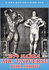 1974 NABBA MR. UNIVERSE - THE SHOW