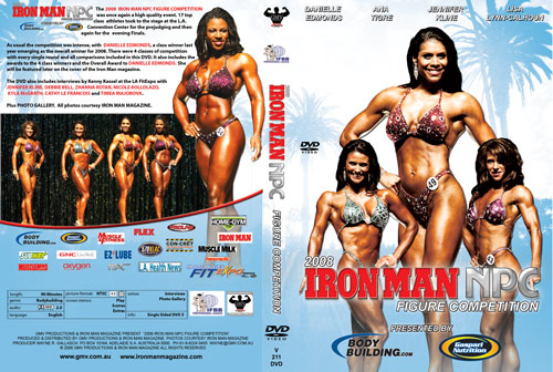 2008 Iron Man NPC Figure Competition DVD