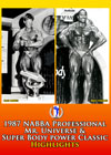 1987 NABBA Professional Mr. Universe & Super Body Power Classic - Highlights