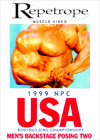 1999 NPC USA CHAMPIONSHIPS: MEN'S BACKSTAGE POSING # 2 on Download