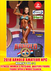 2018 Arnold Amateur NPC Women's DVD # 2 - PHYSIQUE, FITNESS, OPEN & MASTERS FIGURE, MODELS