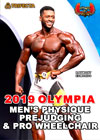 2019 MEN'S PHYSIQUE OLYMPIA PREJUDGING Plus PRO WHEELCHAIR OLYMPIA