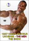 1987 NABBA Amateur Universe: The Men - The Show