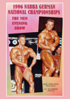 1996 NABBA German National Championships: The Men - Show