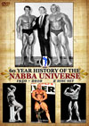60 Year History of the NABBA Universe  1950 - 2010 - 2 DVD Set