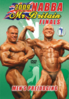 2009 NABBA Britain Finals: The Men's Prejudging