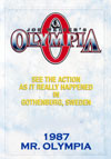 1987 Mr. Olympia (Historic DVD) (Dual price US$39.95 or A$49.95)