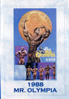 1988 Mr. Olympia (Historic DVD) (Dual price US$39.95 or A$49.95)