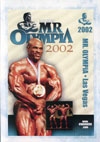 2002 Mr. Olympia Finals (Historic DVD) (Dual price US$39.95 or A$49.95)