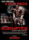 Kai Greene – A New Breed – Vol. 2 REDEMPTION (Dual Price: US$34.95 and A$49.95 in Australia)