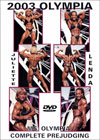 2003 Ms. Olympia - Prejudging