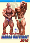 2010 NABBA UNIVERSE - MEN'S PREJUDGING - ON BLU-RAY
