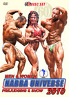 2010 NABBA UNIVERSE: TRIPLE PACK 3 DVD SET - MEN & WOMEN