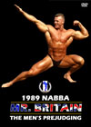 1989 NABBA Mr. Britain – The Men's Prejudging