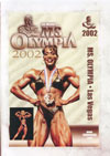2002 Ms. Olympia (Historic DVD) (Dual price US$39.95 or A$49.95)