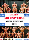 2012 NABBA Universe: Men's Prejudging: 3 DVD Set (Dual Price US$39.95 or A$49.95)