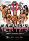 2013 Olympia Women's DVD (Dual price US$35, A$45)