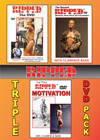 THE RIPPED COLLECTION ON DVD WITH CLARENCE BASS - 3 DVD SET Ripped 1, 2 and 3.