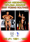 Oscar Heidenstam Foundation Awards - Best Posing Routines - DVD # 1: 1991-1995
