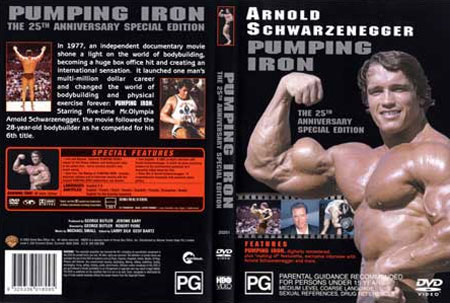 pumping iron the 25th anniversary special edition