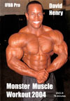 David Henry - Monster Muscle Workout (Dual price US$39.95 or A$62.95)
