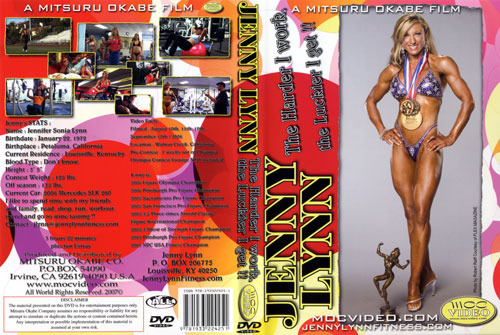 Jenny Lynn - The Harder I Work The Luckier I Get DVD