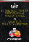 1989 NABBA Mr. Universe: Men's Prejudging