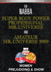 1989 NABBA Universe: The Women - Prejudging & Show