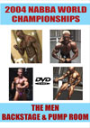 2004 NABBA World Championships - Men's Backstage and Pump Room