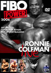 FIBO POWER 2006 – Ronnie Coleman Live! (Dual price US$39.95 or A$62.95)
