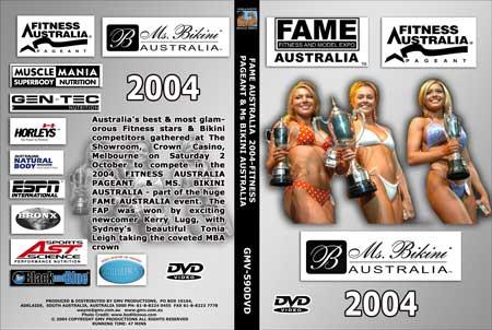 2004 Fitness Australia Pageant and Ms. Bikini Australia