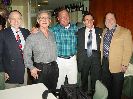 Left to Right: Wayne Gallasch, John Balik, Bill Pearl, Steve Downs, Tom Lincir