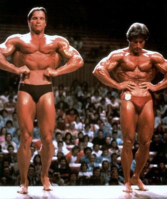 Arnold & Frank Zane