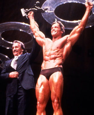 Arnold - winner of the 1980 Mr. Olympia