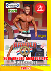 2018 Arnold Amateur NPC Men's Physique & International Sports Hall of Fame Awards - Men's DVD #1
