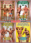 Masters of Muscle Vols 1 - 4: 4-DVD Set