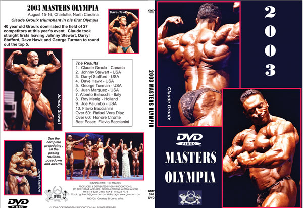 Product Catalogue | GMV Bodybuilding DVDs – Male & Female