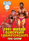 1991 WABBA European Bodybuilding Championships - The Show