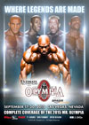 2015 Mr. Olympia  2 DVD Set (Dual price US$39.95 & A$49.95)